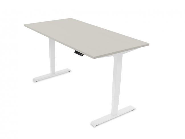Desktopia Pro - Elektrisch höhenverstellbarer Schreibtisch mit Memory-Display - Image Gallery Item 0